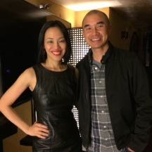 Lia Chang and Ed Moy at Far Bar in LA on April 8, 2015.